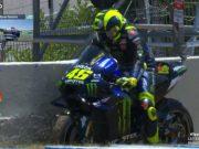 MotoGP Spanyol: Ini Penyebab Motor Rossi Macet