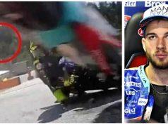 Sosok Aneh Tertangkap Kamera Kecelakaan MotoGP Austria