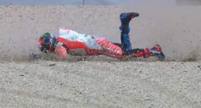 MotoGP Ceko: Kecelakaan FP1, Bagnaia Patah Kaki Kanan