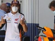 Jelang MotoGP Ceko, Marquez Pamer Kekuatan Lengannya