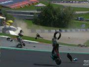 Red Flag MotoGP Austria: Zarco-Morbidelli Tabrakan