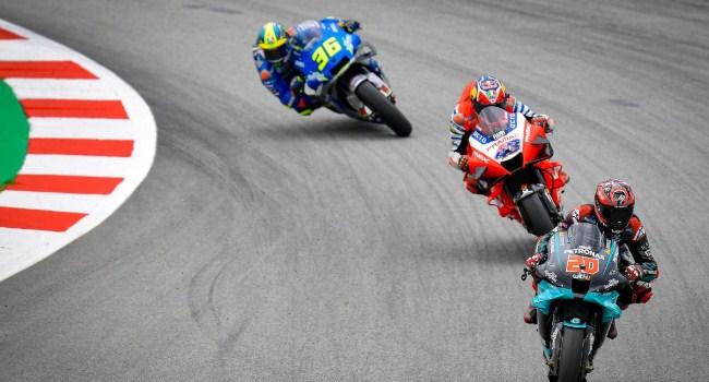 MotoGP Catalunya: 1 Lap Lagi Mir Bisa Kejar Quartararo