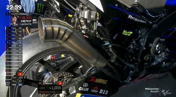 Rossi Uji Coba Knalpot Baru Yamaha, Seperti Apa Kekuatannya?