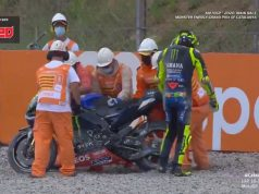 Kecelakaan Catalunya Akhiri Peluang Gelar Juara Dunia Rossi