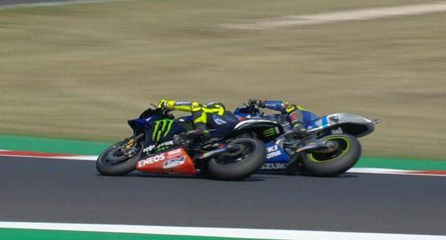 MotoGP San Marino: Mir Minta Maaf Usai Salip Rossi di Lap Terakhir