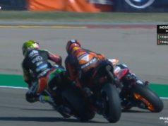 Kualifikasi MotoGP Aragon: Alex Sebabkan Espargaro Bersaudara Tabrakan