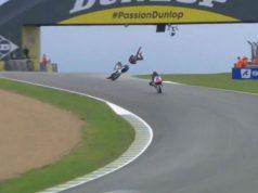 FP2 Moto2 Prancis: Adik Rossi Kecelakaan Parah