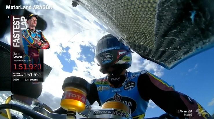 Hasil Latihan Bebas 2 Moto2 Teruel 2020