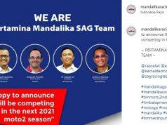 Kejanggalan Pertamina Mandalika SAG Team Moto2