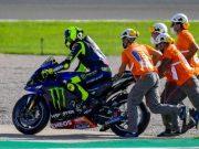 MotoGP Valencia: Tekad Rossi Akhiri Sial Bertubi-tubi