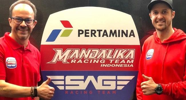 Resmi! Pertamina Mandalika Racing Kolaborasi dengan SAG Team Moto2 2021