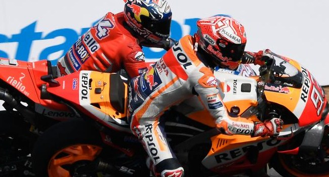Teknologi Ducati Tak Sanggup Tandingi Skill Marquez