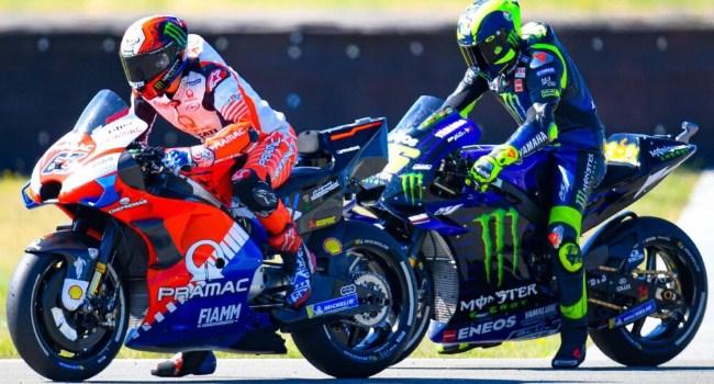 Bagnaia: Rossi Keok di Ducati Karena Motornya Belum Kompetitif