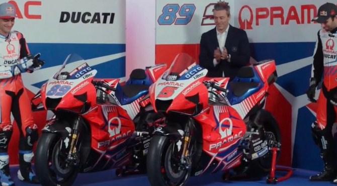 Resmi! Pramac Perkenalkan Livery ZARCO-Martin MotoGP 2021
