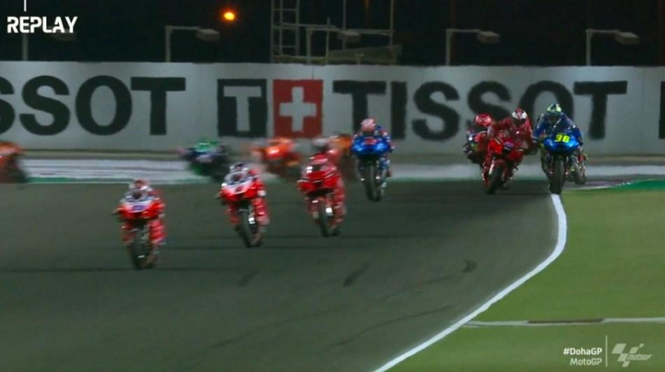 MotoGP Doha: Miller vs Mir Berkelahi di Kecepatan 200km/jam