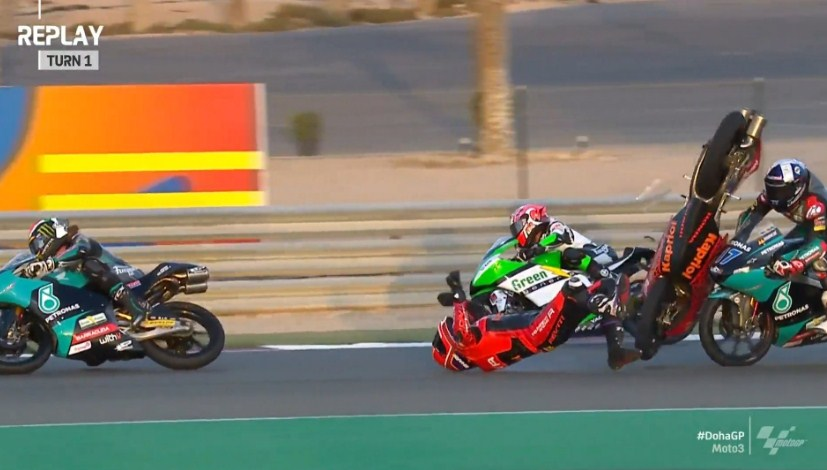 Hasil Race Moto3 Doha 2021
