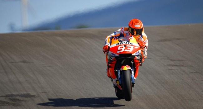 Komentar Marquez Usai Hari Pertama MotoGP Portugal 2021