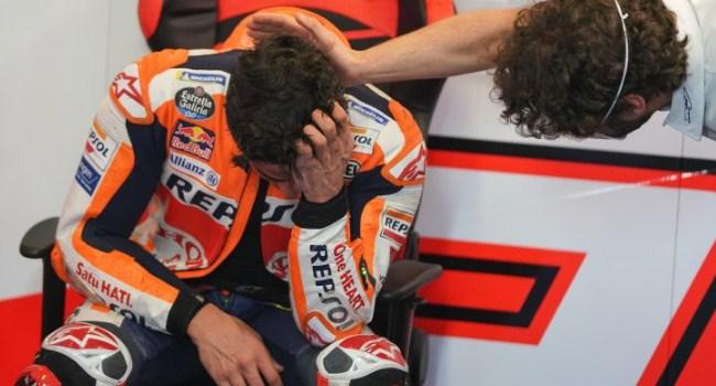 Alasan Marquez Menangis Setelah MotoGP Portugal