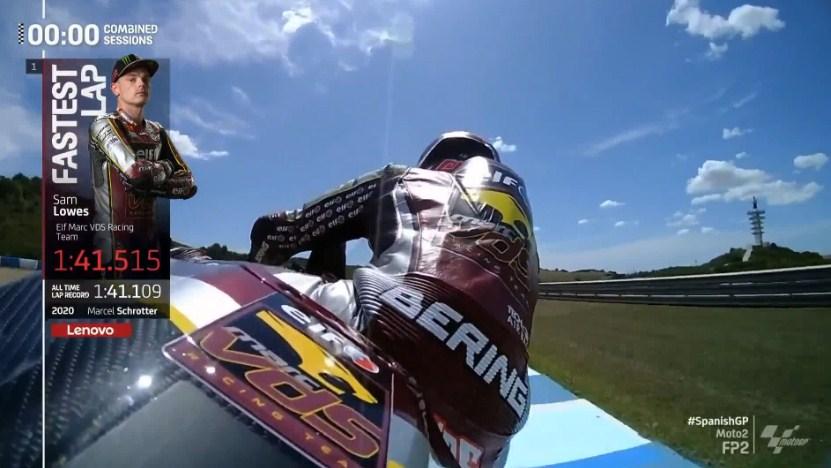 Hasil Latihan Bebas 2 Moto2 Spanyol 2021