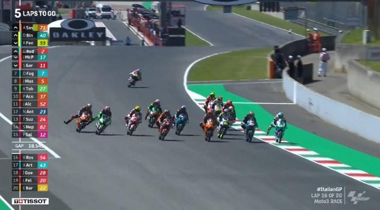 Hasil Race Moto3 Italia 2021