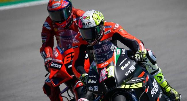 Aprilia Motor MotoGP Terkencang di Tikungan, Tapi..