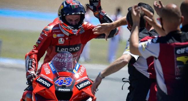 Lorenzo Sebut Kemenangan Miller Biasa Saja Karena Arm-pump Quartararo