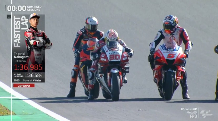 Hasil Latihan Bebas 3 MotoGP Spanyol 2021