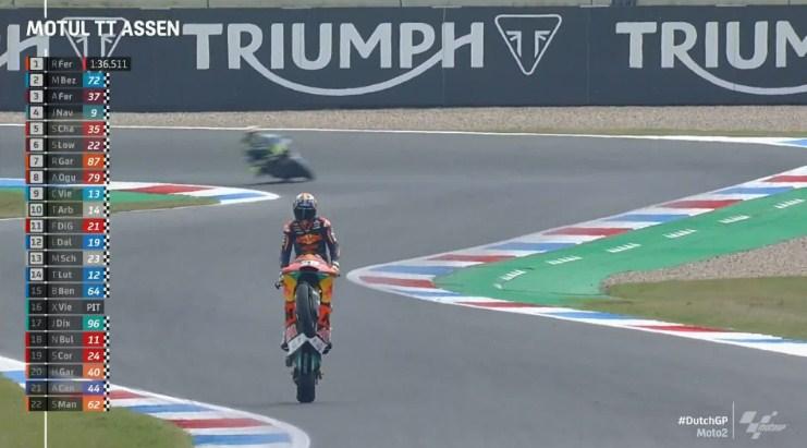 Hasil Latihan Bebas 3 Moto2 Belanda 2021