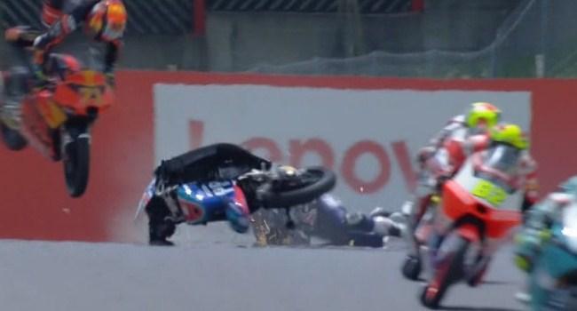 Moto3: Kronologi Kecelakaan Dupasquier, Dua Pembalap Tabrak Kepala dan Kaki