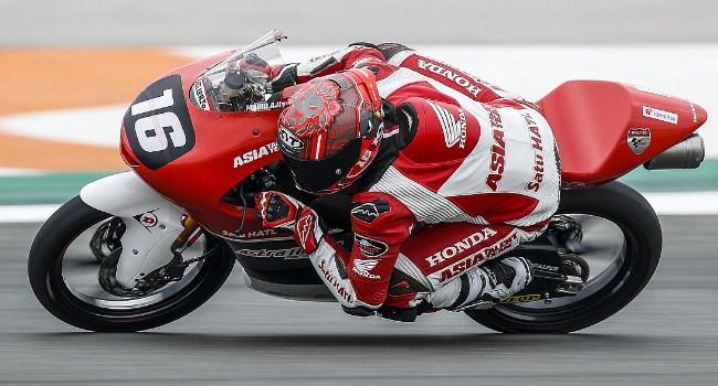 Mario Aji Raih Pole CEV Moto3 Catalunya 2021