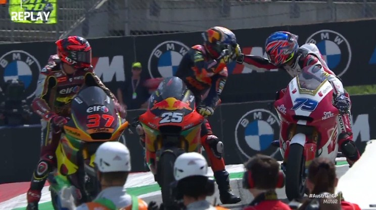 Hasil Race Moto2 Austria 2021