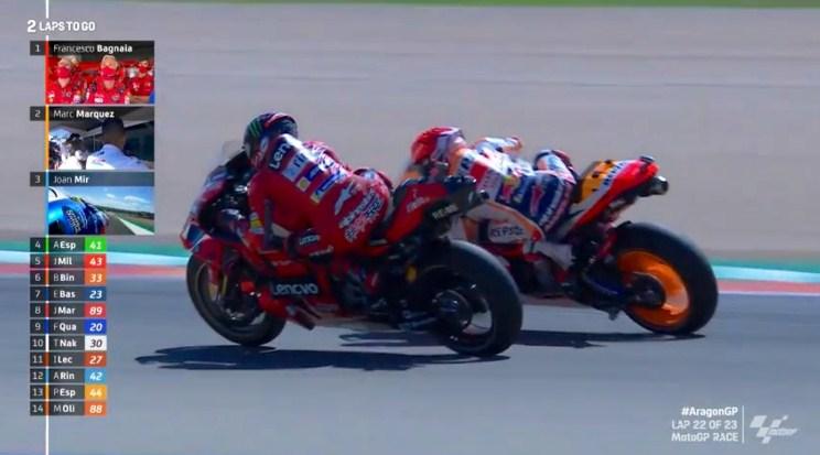 Menangi MotoGP Aragon, Murid Rossi Rujak Marquez Habis-habisan