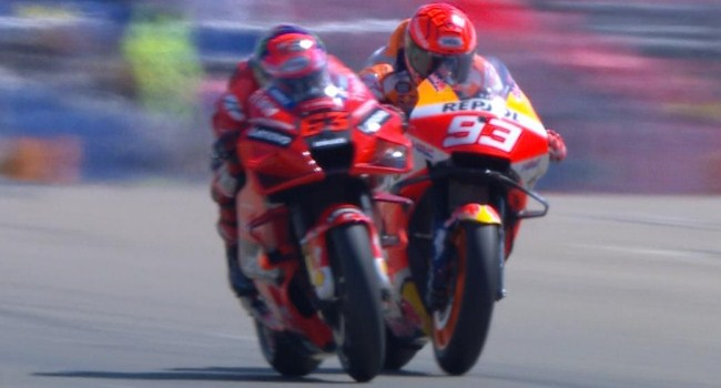MotoGP Aragon: Marquez Jelaskan Penyebab Kalah Lawan Bagnaia