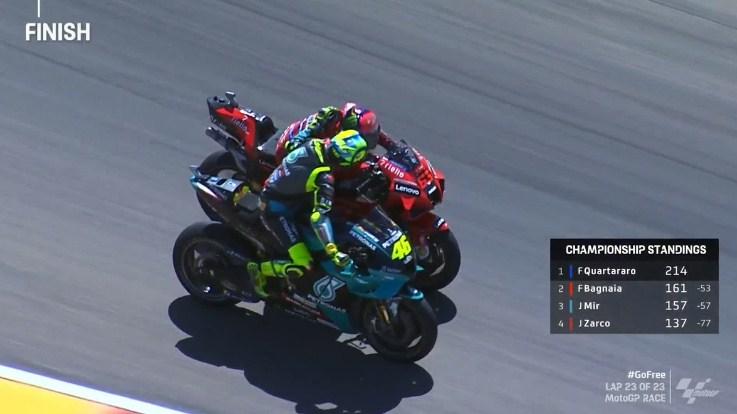 Bagnaia Menang MotoGP Aragon Karena Dihipnotis Rossi
