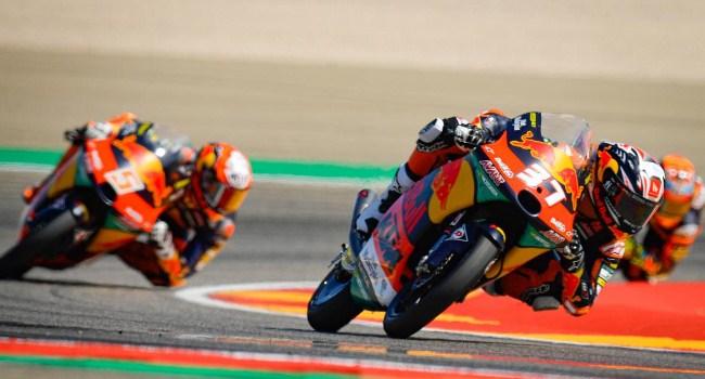 Klasemen Sementara Moto3 Usai GP Aragon 2021