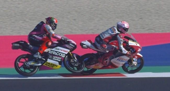 Tandem Andi Gilang Diskualifikasi Balapan Moto3 San Marino