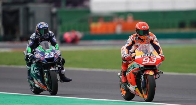 Bastianini Bangga Salip 'Bos MotoGP' Marquez untuk Podium