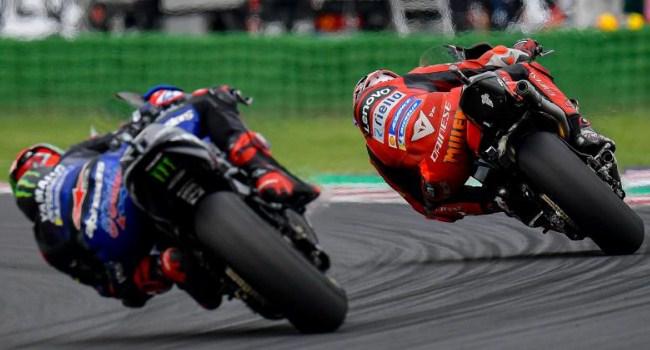 Strategi Ducati Berhasil: Bagnaia Menang Ngacir, Miller Blokir Quartararo