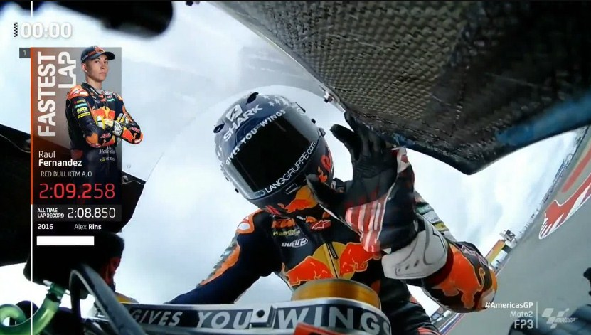 Hasil Latihan Bebas 3 Moto2 Amerika 2021